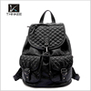 2015 fashion style soft pu lady backpack made in China