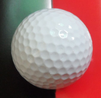 Factory Supply Custom Logo Elastic Golf Ball