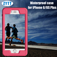 Wholesale metalik mobile phone cover, shockproof, waterproof and dustproof cover case for iPhone 6plus