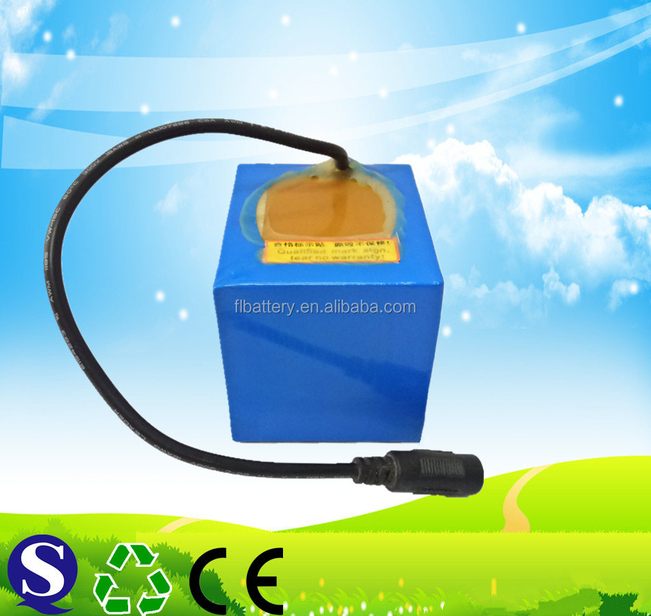 Rechargeable battery pack 18650 12v 5ah lithium battery pack