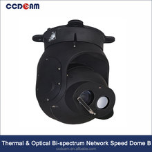 CCDCAM New Product Thermal+Optical Bi-spectrum High PTZ Speed Dome Thermal Network Camera
