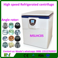 laboratory equipment MSLHC05i Benchtop hight speed cold centrifuge/ High Speed Refrigerated Centrifuge