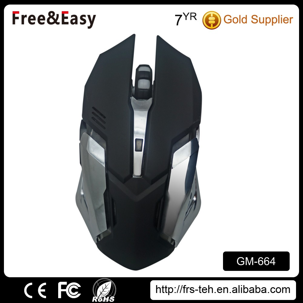 Novelty wired gaming 6d optical mouse