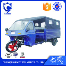 China top roof 175cc powered gas scooter passenger motor tricycle