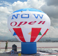 advertising inflatable cold air balloon, balloon for grand opening event K2051