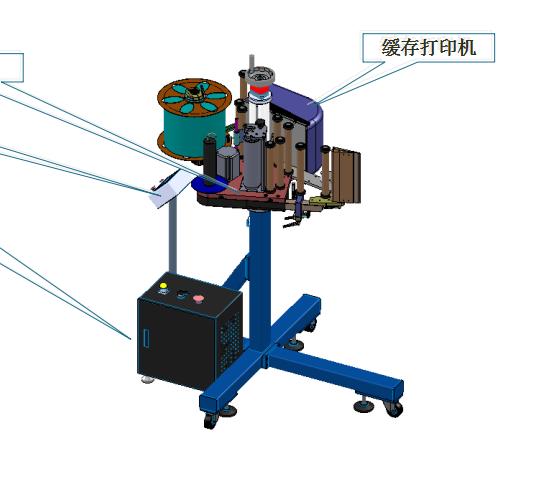 PC Connectable Label Maker printer printing labeling machine label applicator