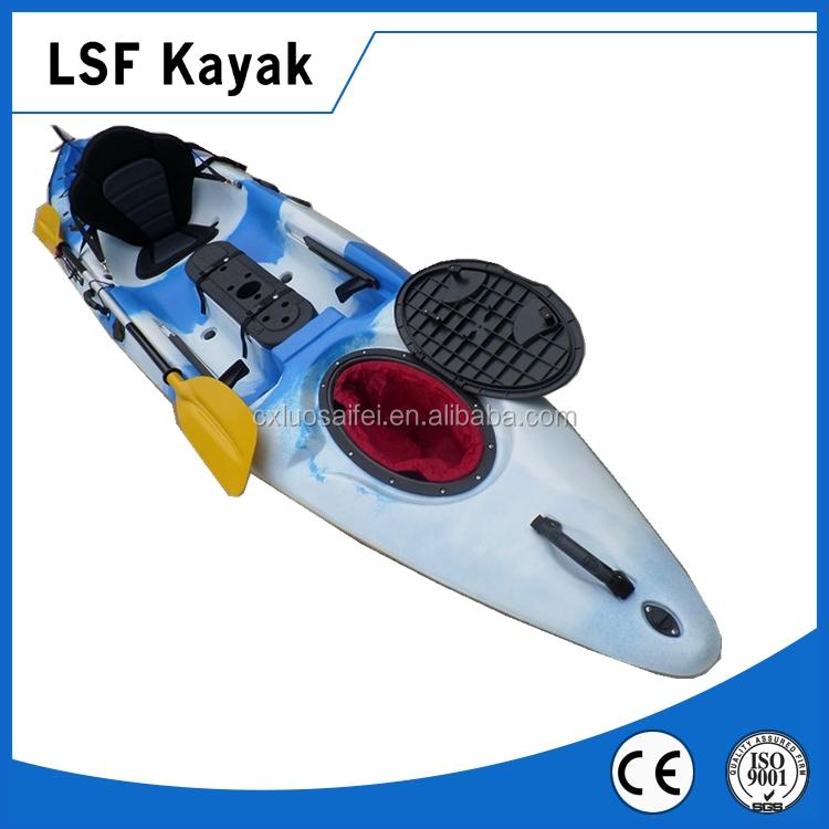 3 1 4m plastic cheap fishing kayak sit on the top kayak for Best cheap fishing kayak