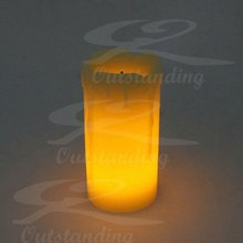 Home Decoration Use And Flameless Feature Votive Electric LED Candle