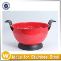 3 Quart ,5 Quart Colourful Collander with Powder Coating