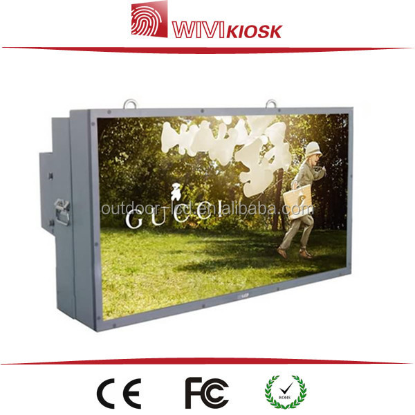 "32"" LCD Advertising Touch Screen outdoor TFT kiosk with wifi"