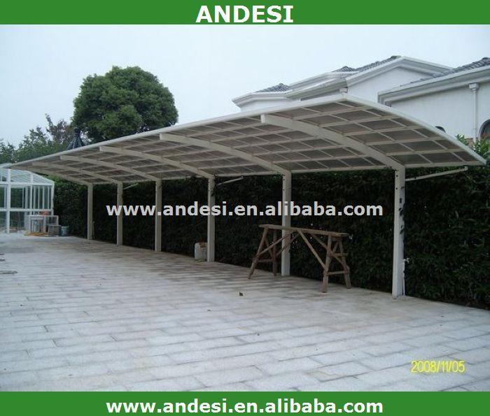 doppelkabine aluminium carport mit kunststoff dach garage dach fahrradschuppen produkt id. Black Bedroom Furniture Sets. Home Design Ideas