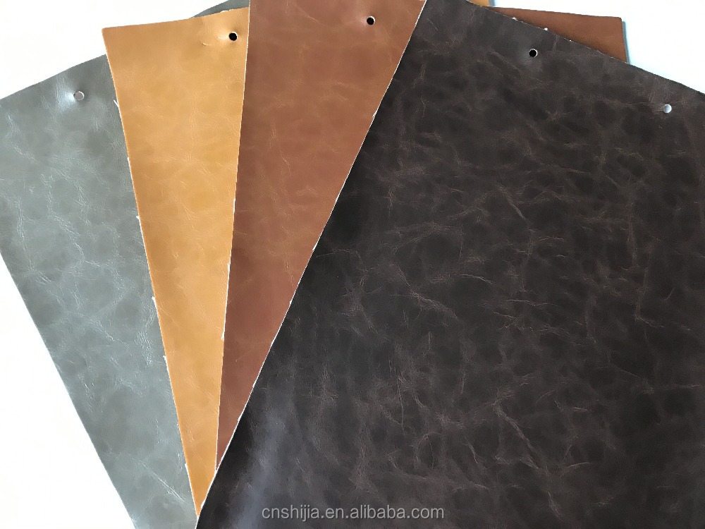 PU leather for sofa, for cushion , solvent-free