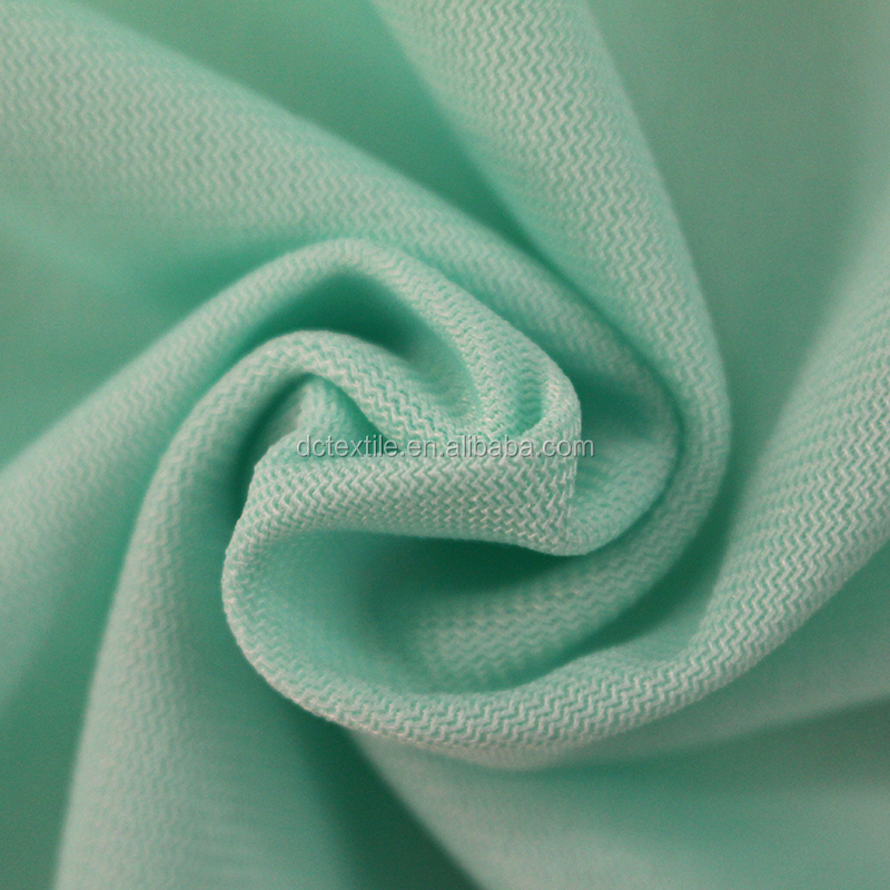 100D polyester single brushed stretch fabric
