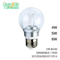 Yunsun Dimmable COB 5W led bulb,led bulb light,led bulb e27