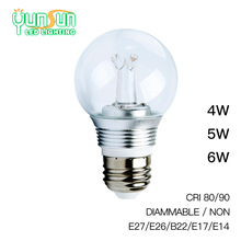 Yunsun Dimmable COB 5W led bulb,led bulb light,led bulb e27