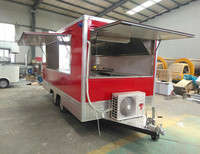 New style Outdoor Food Cart Snack Trailer