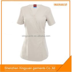 Star SG OEM service Women 100% cotton beauty salon and spa uniform
