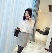 Wholesale korean style women blouse fashion sweet design good quality new shirt