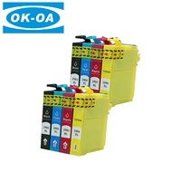Famous products refilled ink cartridge t2991 t2992 t2993 t2994 for epson xp 332 xp 335