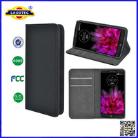 Business Type Leather Flip Cover For LG G Flex 2 Wallet Case With Magnet