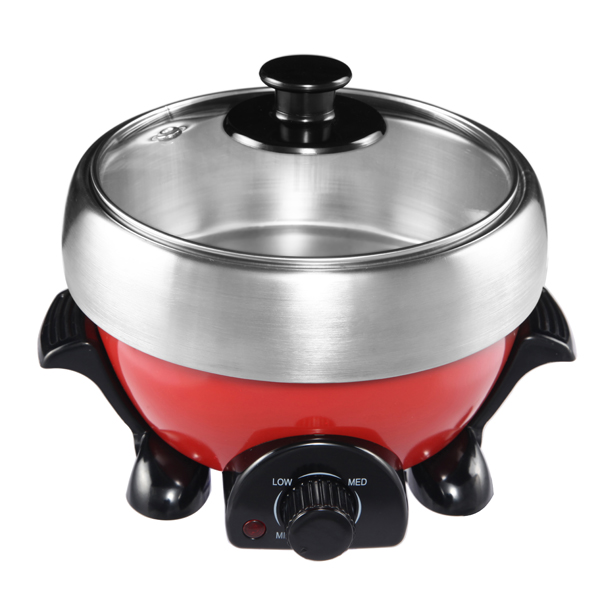 Multifunctional electric mini cooker