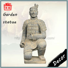 Xian antique statues replica garden decor terracotta warriors statue