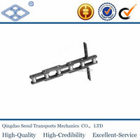 heavy duty Pitch 66.27mm 81XH conveyor chain long pitch large Lumber alloy steel welding conveyor chain