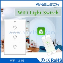 1 2 3 gang smart home automation phone wifi controlled wall light switch