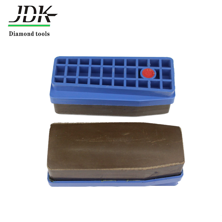 Diamond abrasive block resin fickert for granite polishing