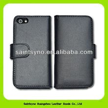 13084 High quality real leather mobile cases for iphone 4/4S