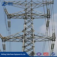 110Kv 132 Kv 220Kv 550Kv Transmission line galvanized steel tower