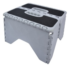 VERTAK folding step plastic stool with Anti-slip Sticker