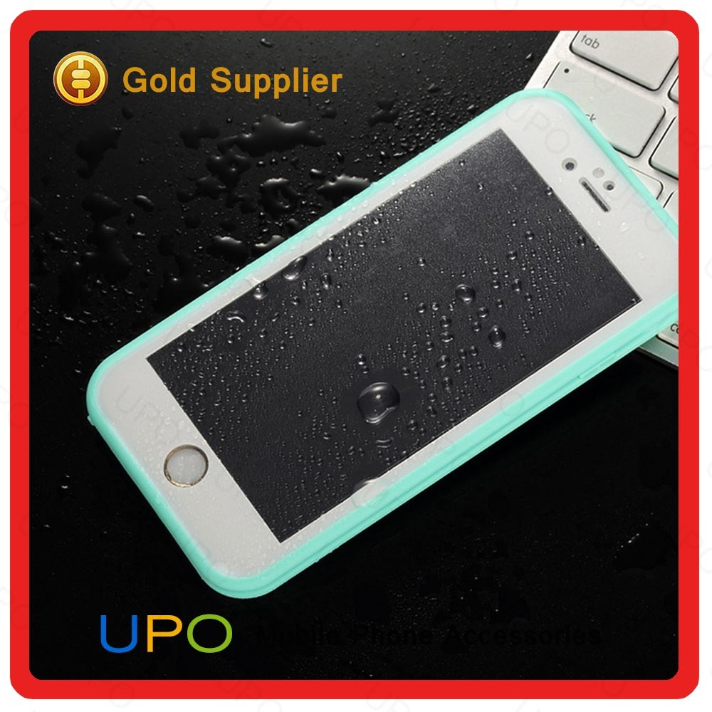 [UPO] 2016 Wholesale 360 degree protector waterproof Phone Case Hard PC TPU Hybrid Mobile Phone Case for iPhone 6