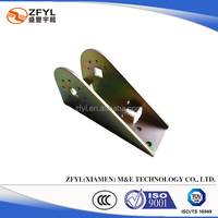 Galvanized Steel Stamped Bracket for Furniture, OEM Orders welcome