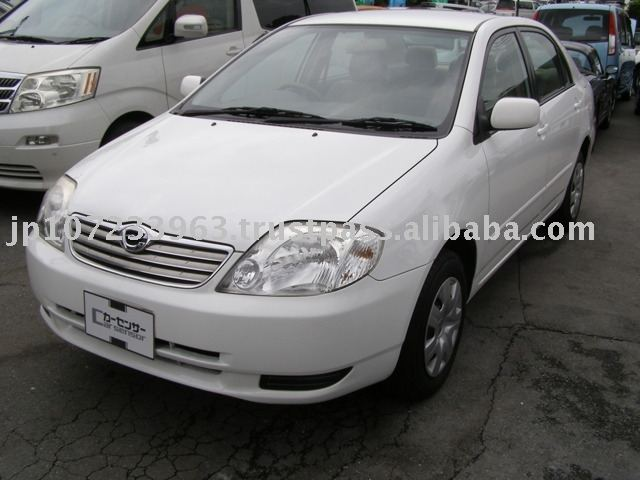 2003 Used japanese cars TOYOTA Corolla / Stearing:right / 62,000km