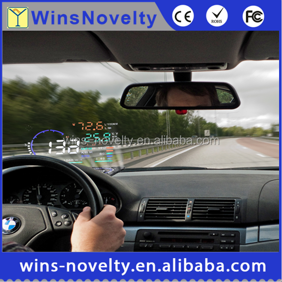 Entertainment A8 OBD2 Car HUD New Auto Electronics Head Up Display Speed alarm systems