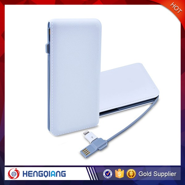 wholesale price ultra slim leather power bank for samsung galaxy S4