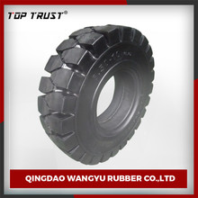 thick tread pattern 8.25-15/7.50-15 bias forklift solid tire