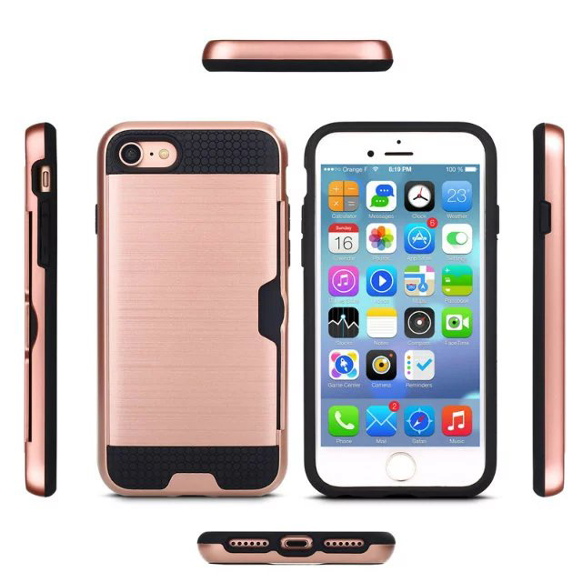 Hot sale product Anti Slip Armor cover case for apple iphone 7 phone case wholesale