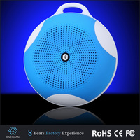 2015 new product palstic and silicon mini bluetooth digital speaker