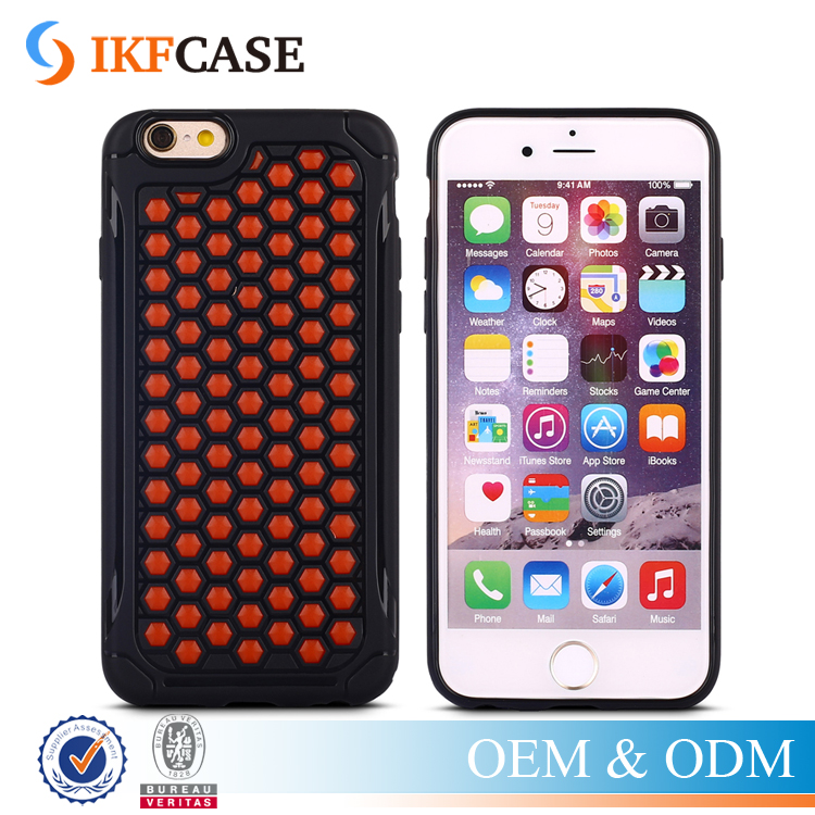 New Products Dual Layer Rugged Shockproof Picasso Hybrid Armor Cell Phone Case for iPhone 5 5S 6 6S 6 Plus 6S Plus