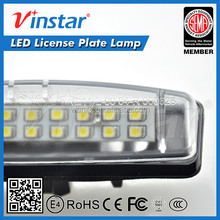 Vinstar Auto car part Toyota Camry LED License Plate Lamp High Quality LED Number Plate Lamp Car Tunning LED Light