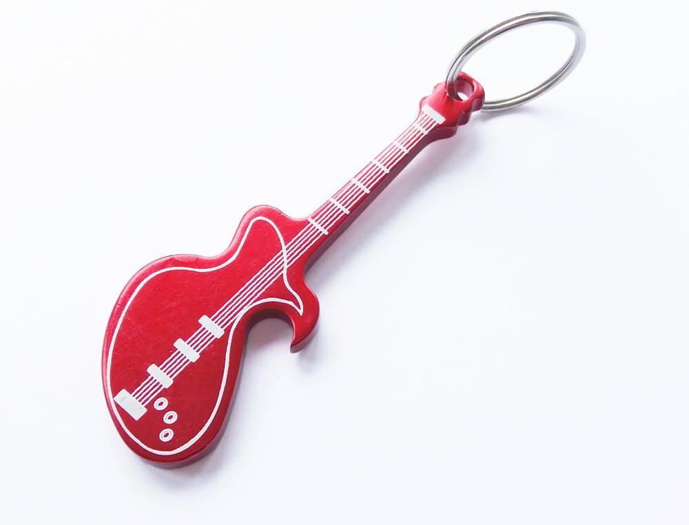 keychain type custom aluminum guitar bottle opener buy bottle opener guitar bottle opener. Black Bedroom Furniture Sets. Home Design Ideas