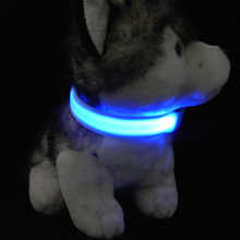 Hot Selling Best Quality Name Brand Led Flashing Pet Collars Dog Collar