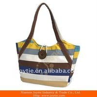 Canvas casual tote bag