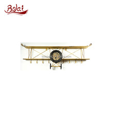 BSCI long lasting iron and paper craft clock cheap model airplanes for bed room