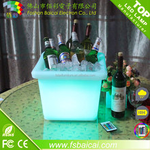 PE Plastic Type and Plastic Material plastic led ice bucket