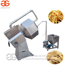 Good Performance Octagonal Flavored Popcorn Puffed Corn Snack Nut Food Flavoring Flavor Mixing Potato Chips Seasoning Machine