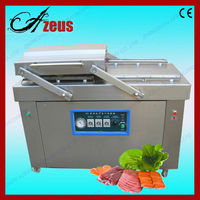 Double-room dz400 vacuum sealer for meat packing