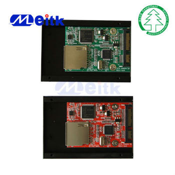 SATA To SD SDHC 2.0 Converter Card with meatl case